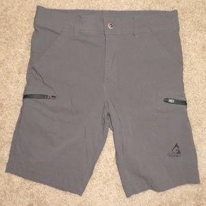 Gerry Olive Green Khaki Bermuda Board Cargo Shorts